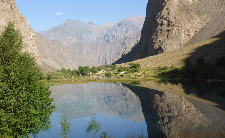 tajikistan has usually nice weather and offers good view of the lakes and mountains in Jisew Valley