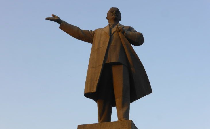 Best of Central Asia Tour: Lenin statue in Osh reflects the Soviet history