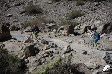 Tajikistan mountain bike tour road