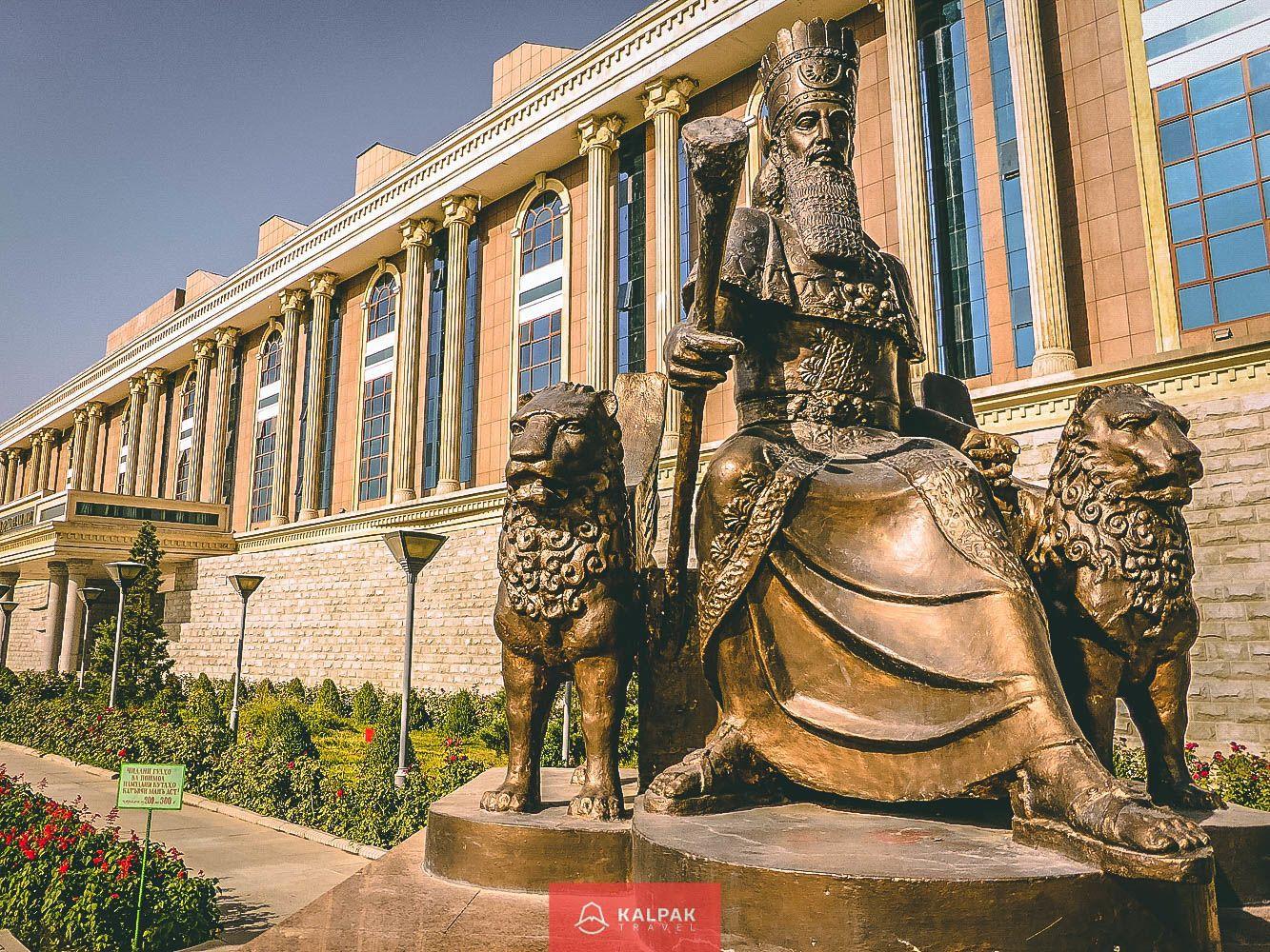 Tajikistan's capital city - Dushanbe