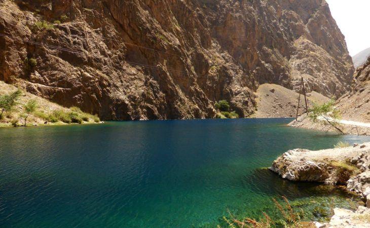 Tajikistan trekking around the mountain lakes