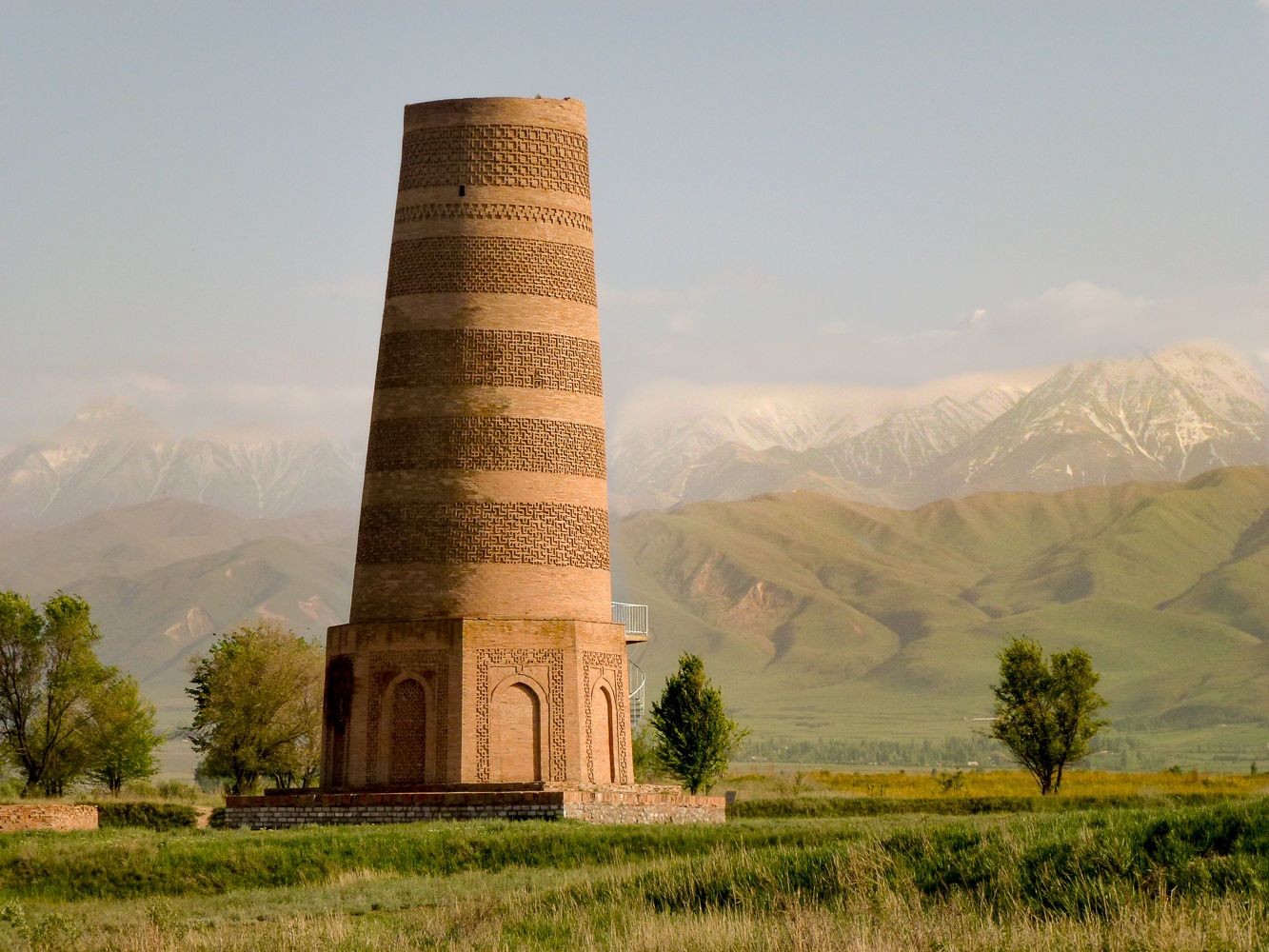 Burana Tower Kyrgyzstan During Best Central Asia Tour