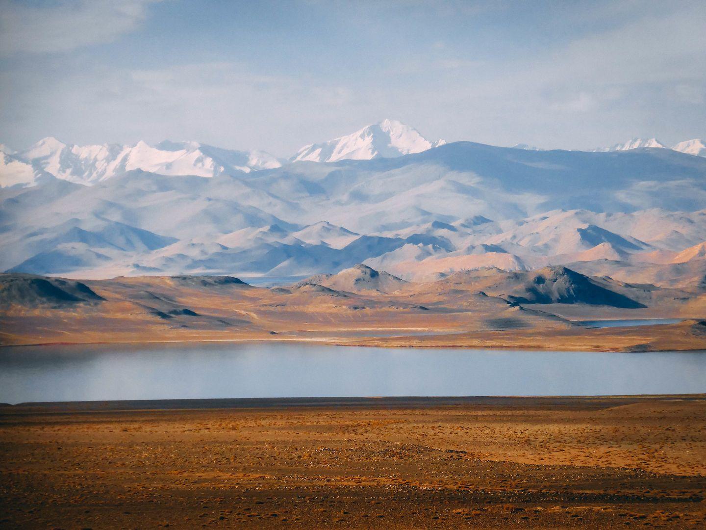 Karakul-See in Tadschikistan, Pamir-Gebirge
