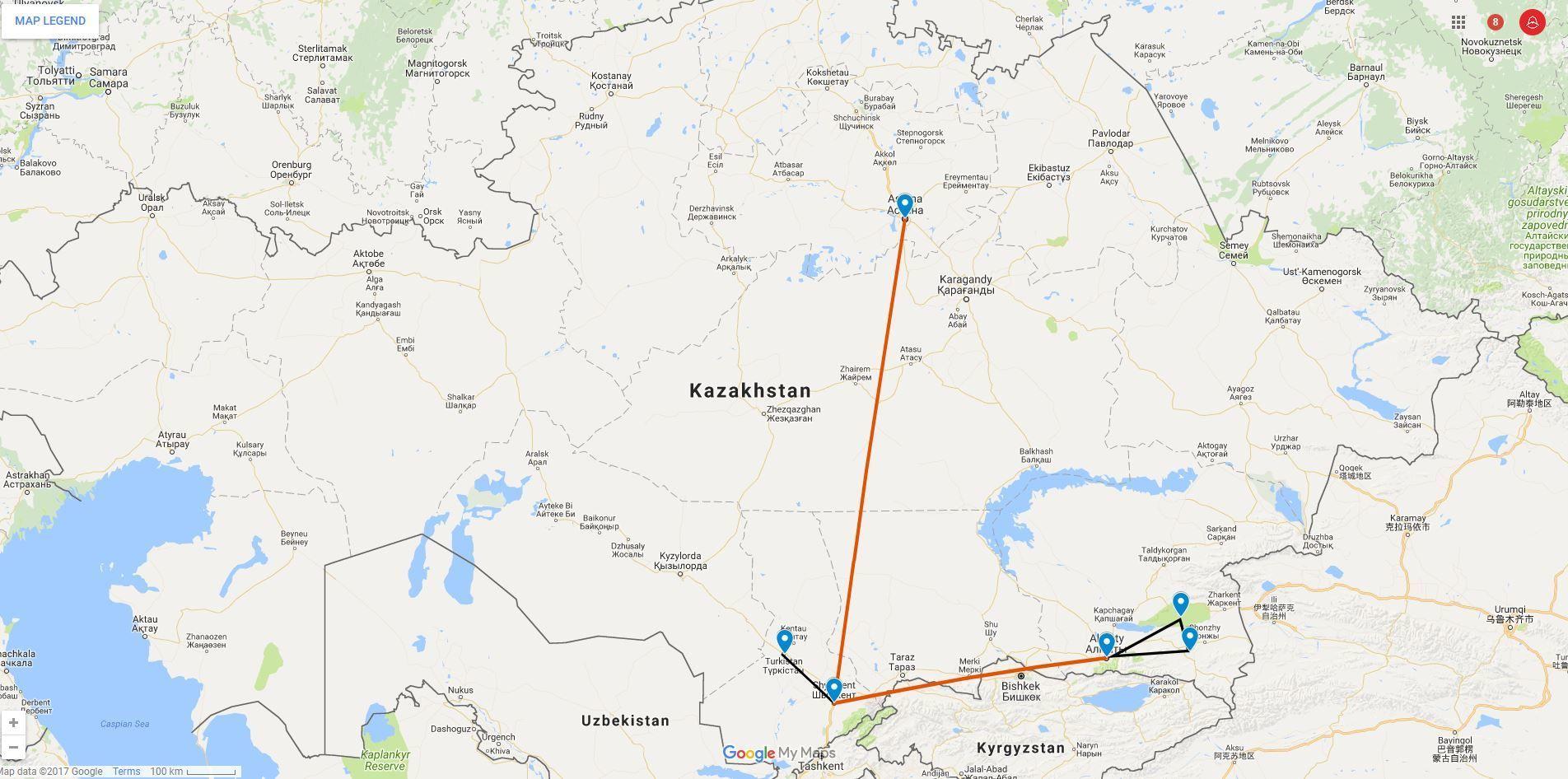 Best of kazakhstan tour kalpak travel expand all colapse all gumiabroncs Images