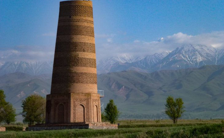 burana tower- best tour central asia, Silk Road