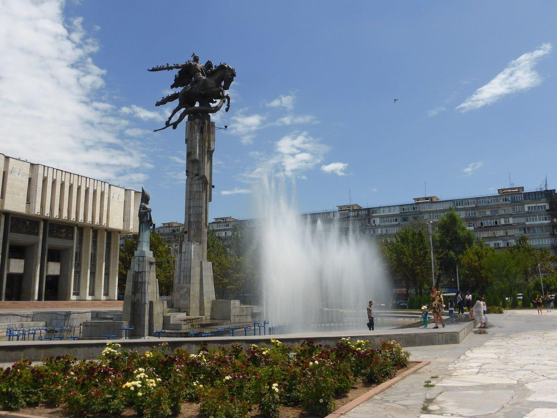 philarmonic hall Bishkek City Tour