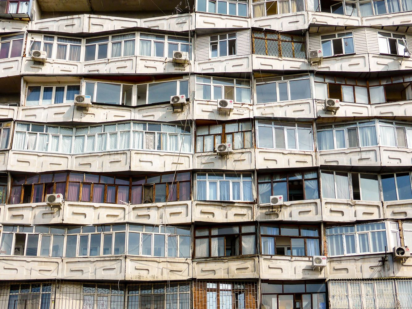 Soviet architecture apartments, Bishkek Travel Guide