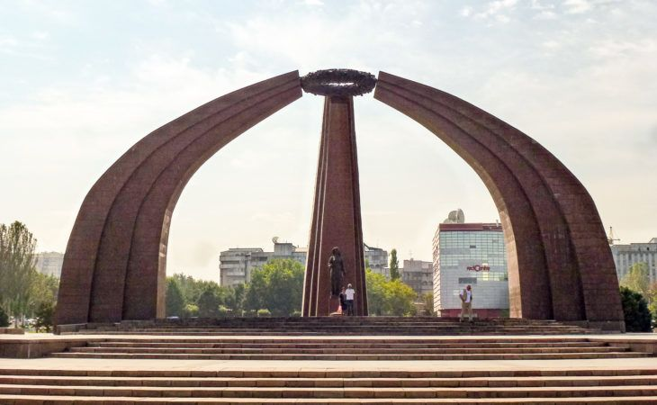 victory square bishkek