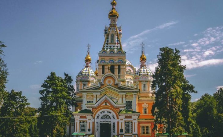 Best of Central Asia Tour: Almaty, Zenkov wooden cathedral