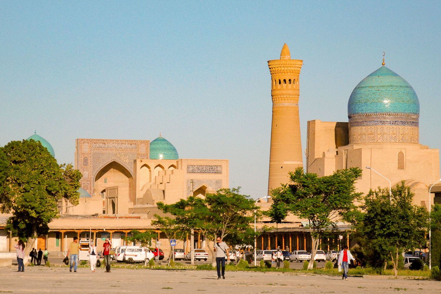 Bukhara Travel Guide- view of the old city with tower