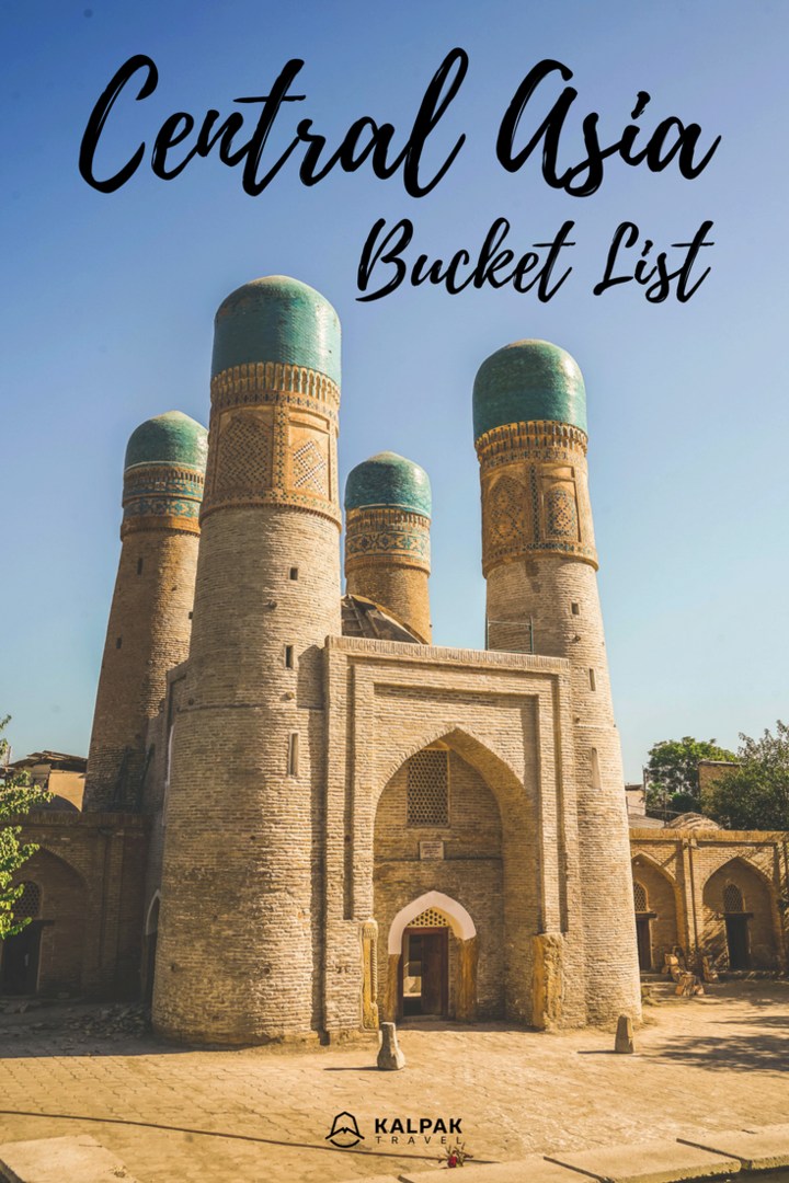 Central Asia bucket list