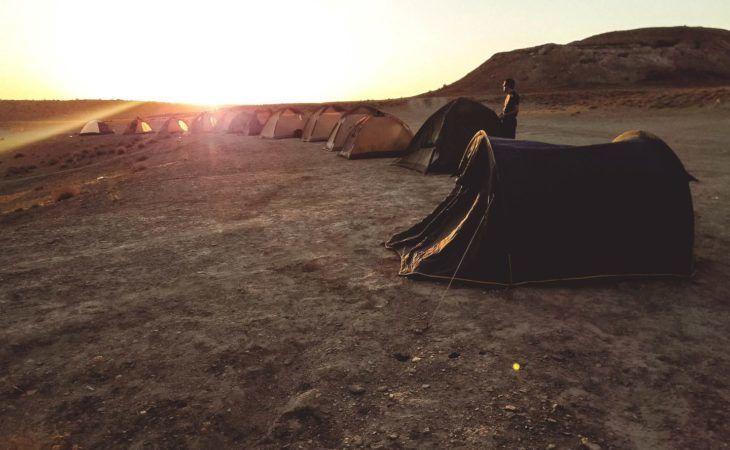 Camping in Turkmenistan