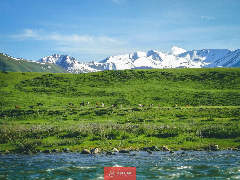 Sehenswürdigkeiten Zentralasien, Tian Shan Berge in Kirgistan