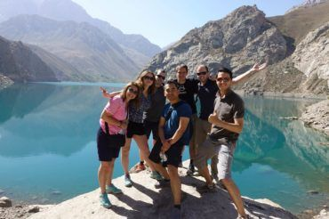 fann kulikalon lakes travelers mountains Tajikistan