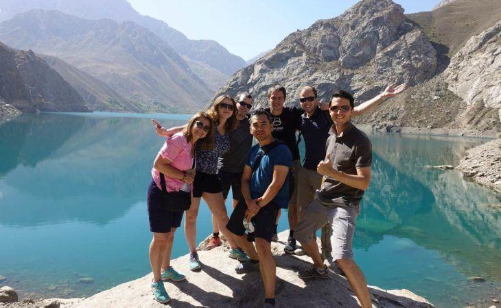 fann kulikalon lakes travelers mountains Tajikistan