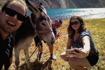 Tajikistan Fann Mountains Donkey