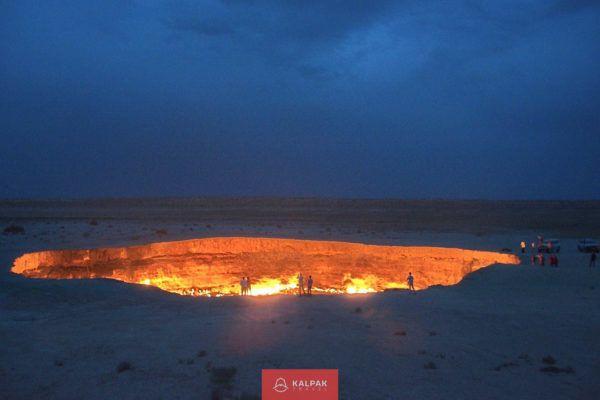 Zentralasien Sehenswürdigkeiten, Darwaza