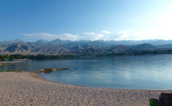 issyk kul lake in kyrgyzstan is one of the top places to visit in Kyrgyzstan
