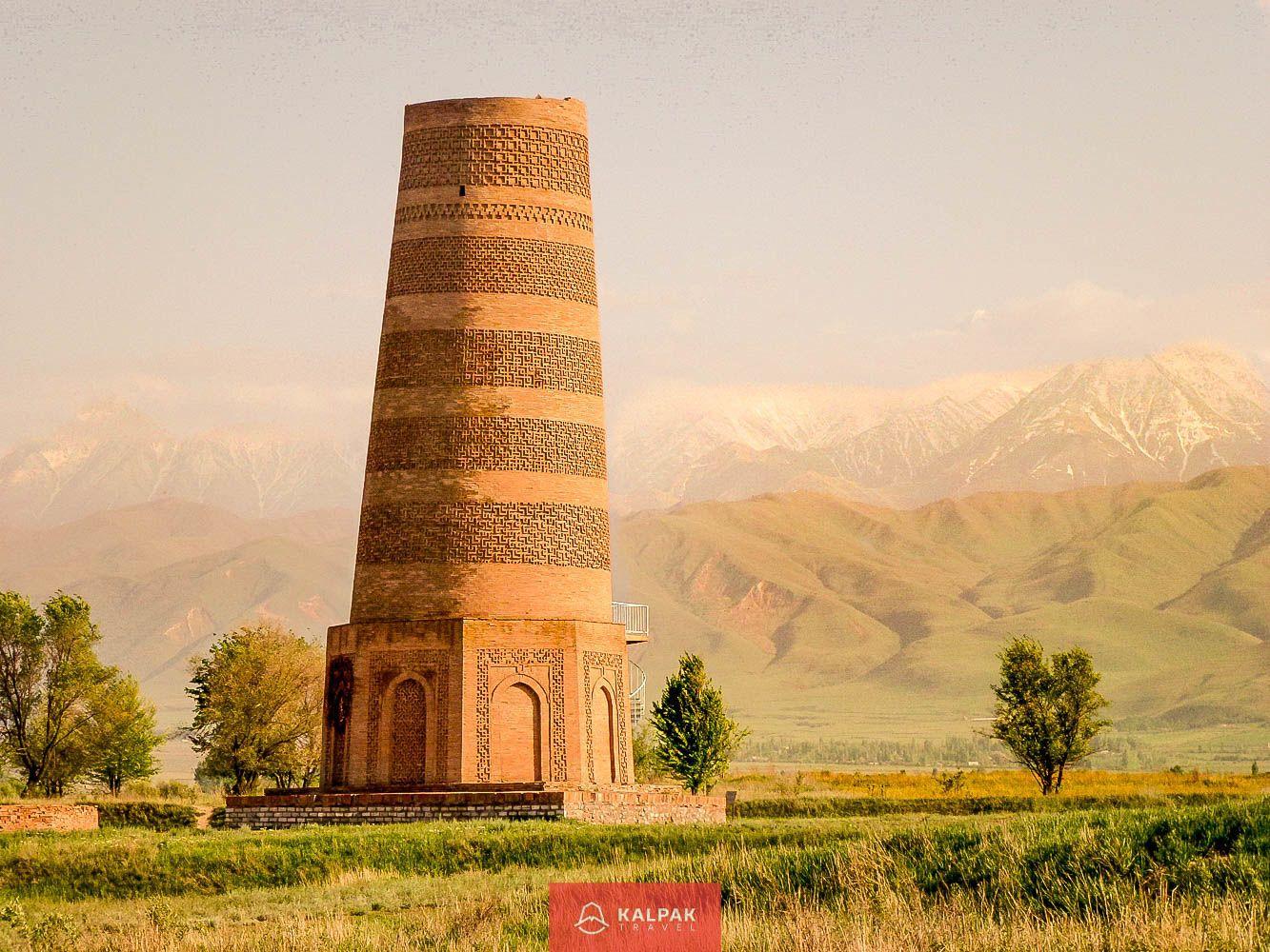 سفرهای قرقیزستان، برج Burana، مکان های عالی برای دیدار