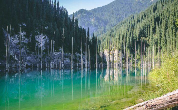 Kazakhstan Kaindy Lake