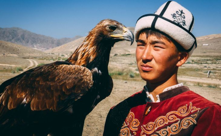 Kyrgyz Eagle Hunter