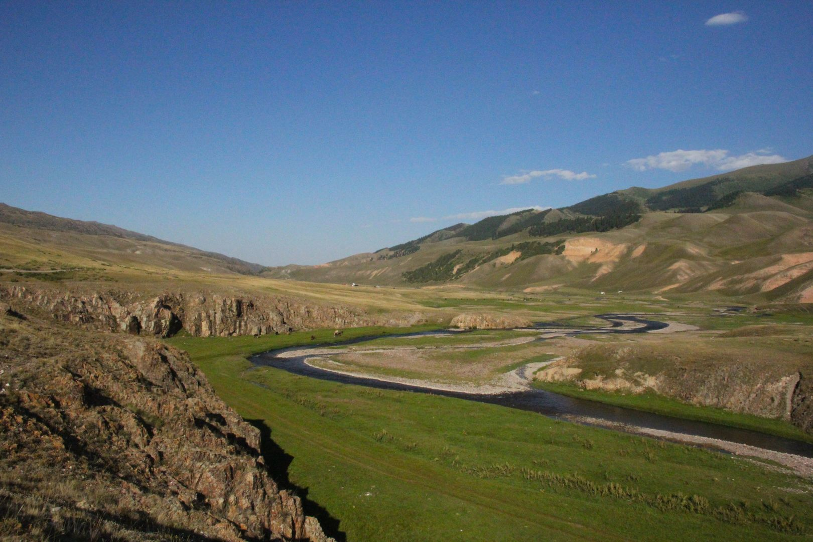 Kyrgyzstan - beauitful mountains scenery