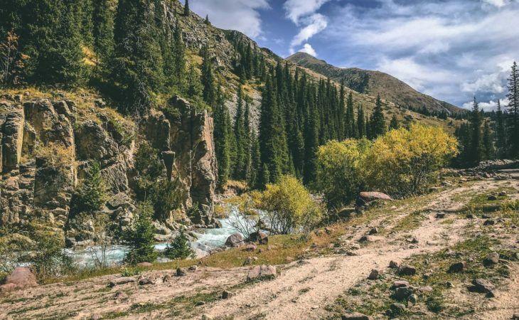 Kyrgyzstan Mountain Biking Route