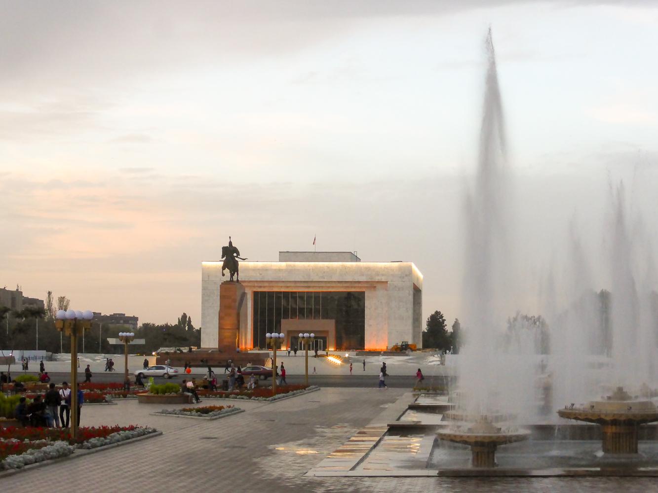 Kyrgyzstan's capital Bishkek