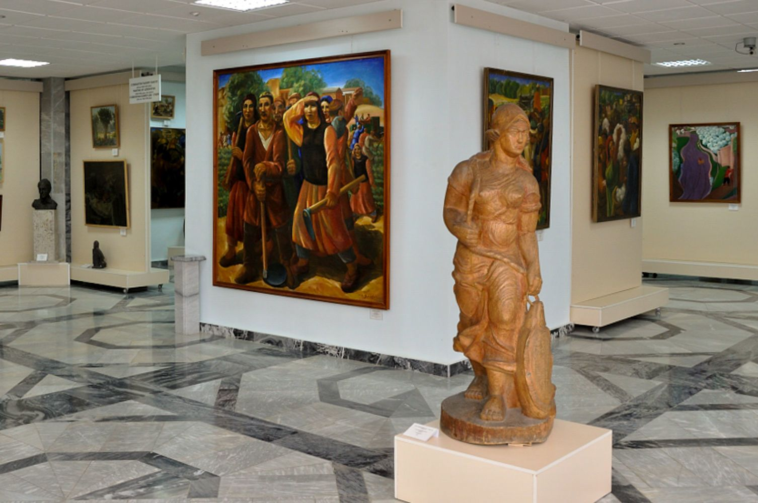 nukus savitsky museum in karakalpakstan uzbekistan travel