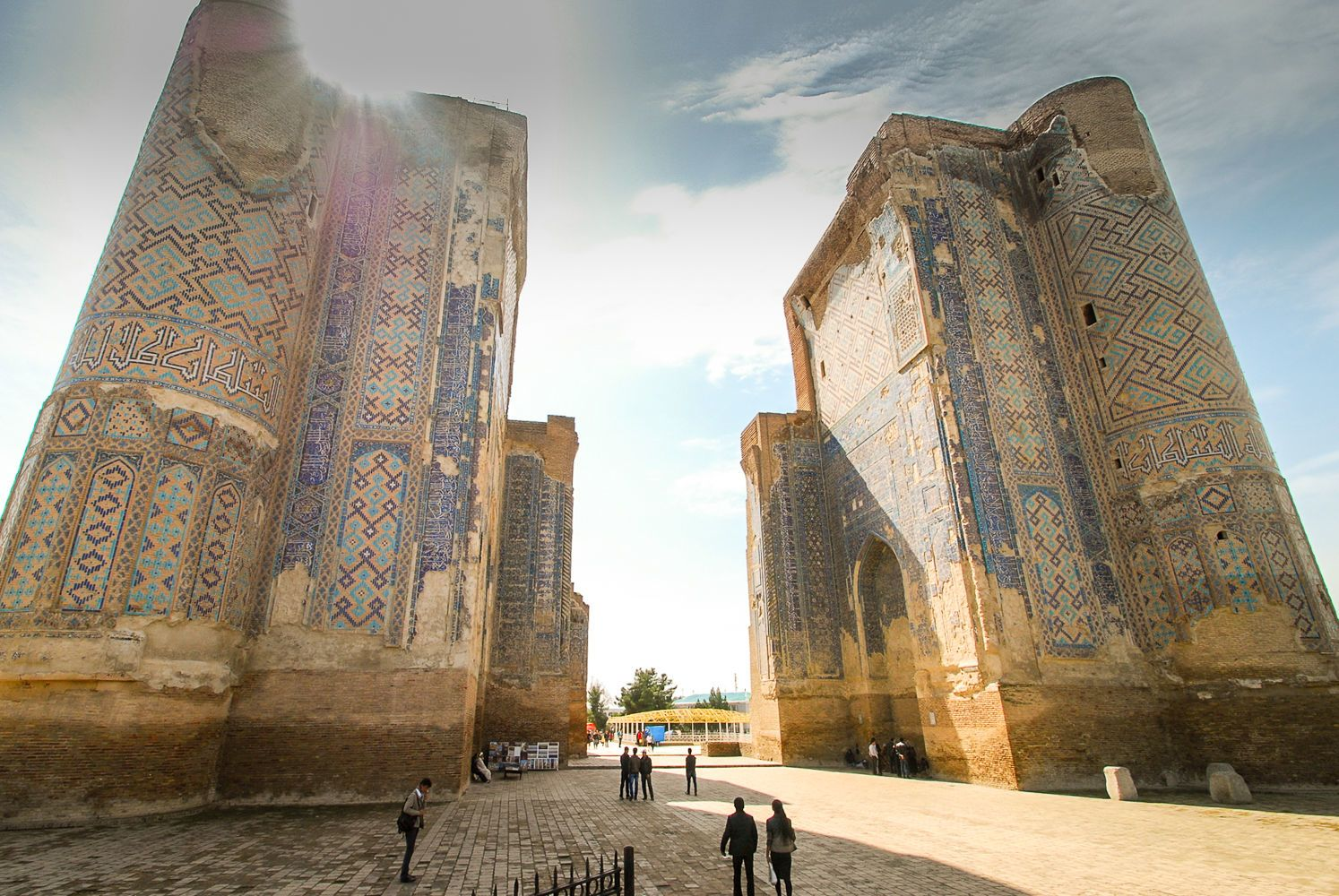 Top travel places Uzbekistan