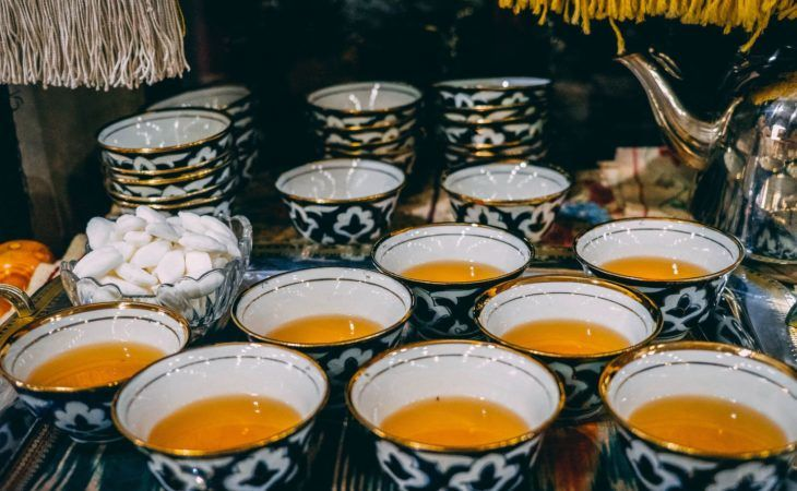 Uzbekistan Central Asia traditions tea
