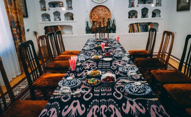 Uzbekistan Cuisine Central Asia