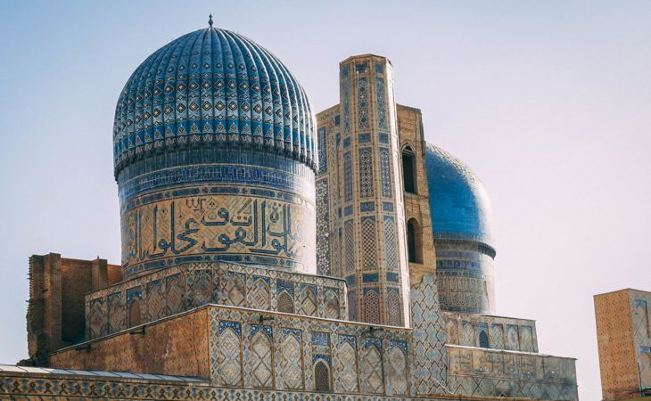 The architectural riches of Samarkand, one of Uzbekistan's famous Silk Road cities