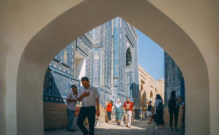 Central Asia Guide, Uzbekistan Cemetery