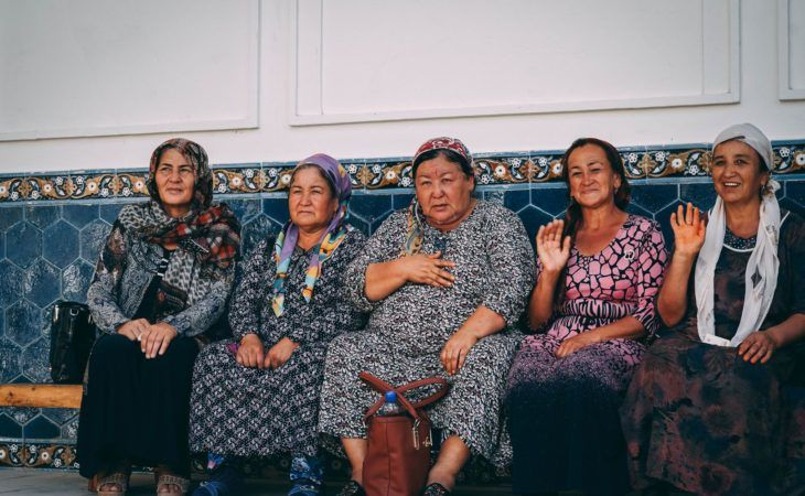 Uzbek Women in Central Asia