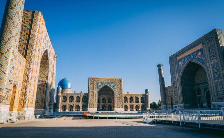Uzbekistan Tour Samarkand Registan