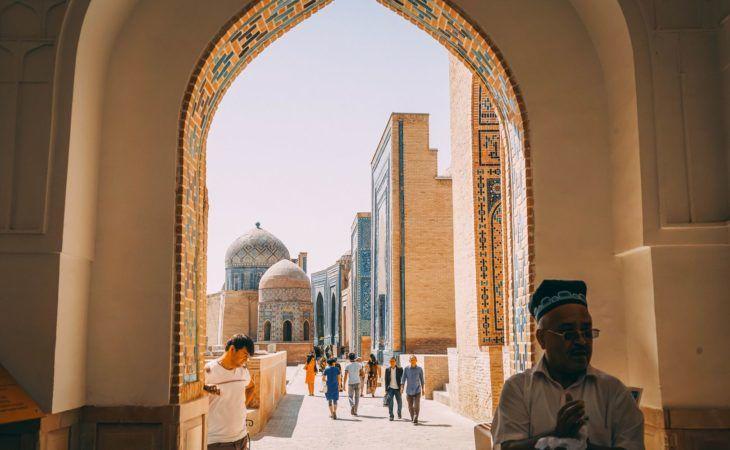 Travel Uzbekistan- Samarkand Shahi Zinda