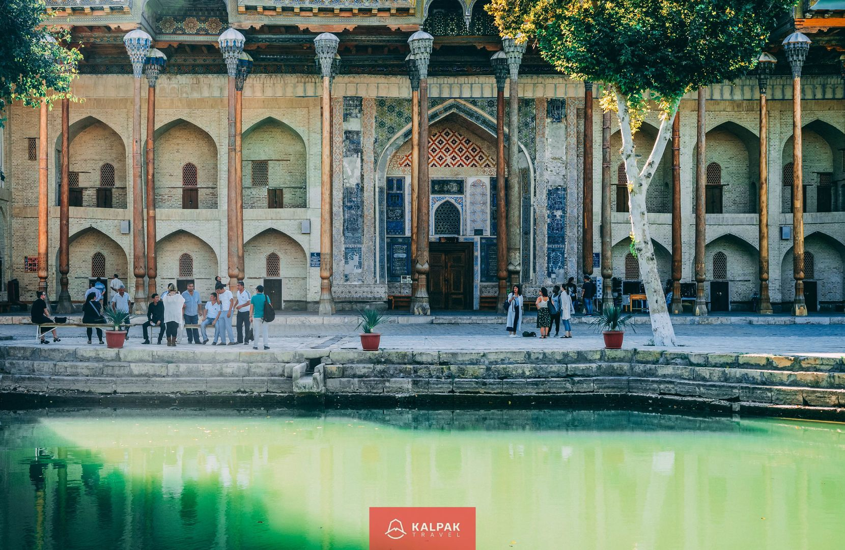 Bukhara, bolo hauz