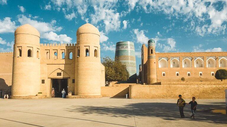 Khiva Gates in Uzbekistan