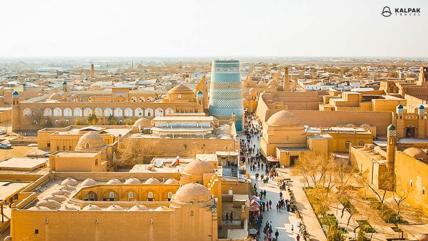 Khiva - view of the city