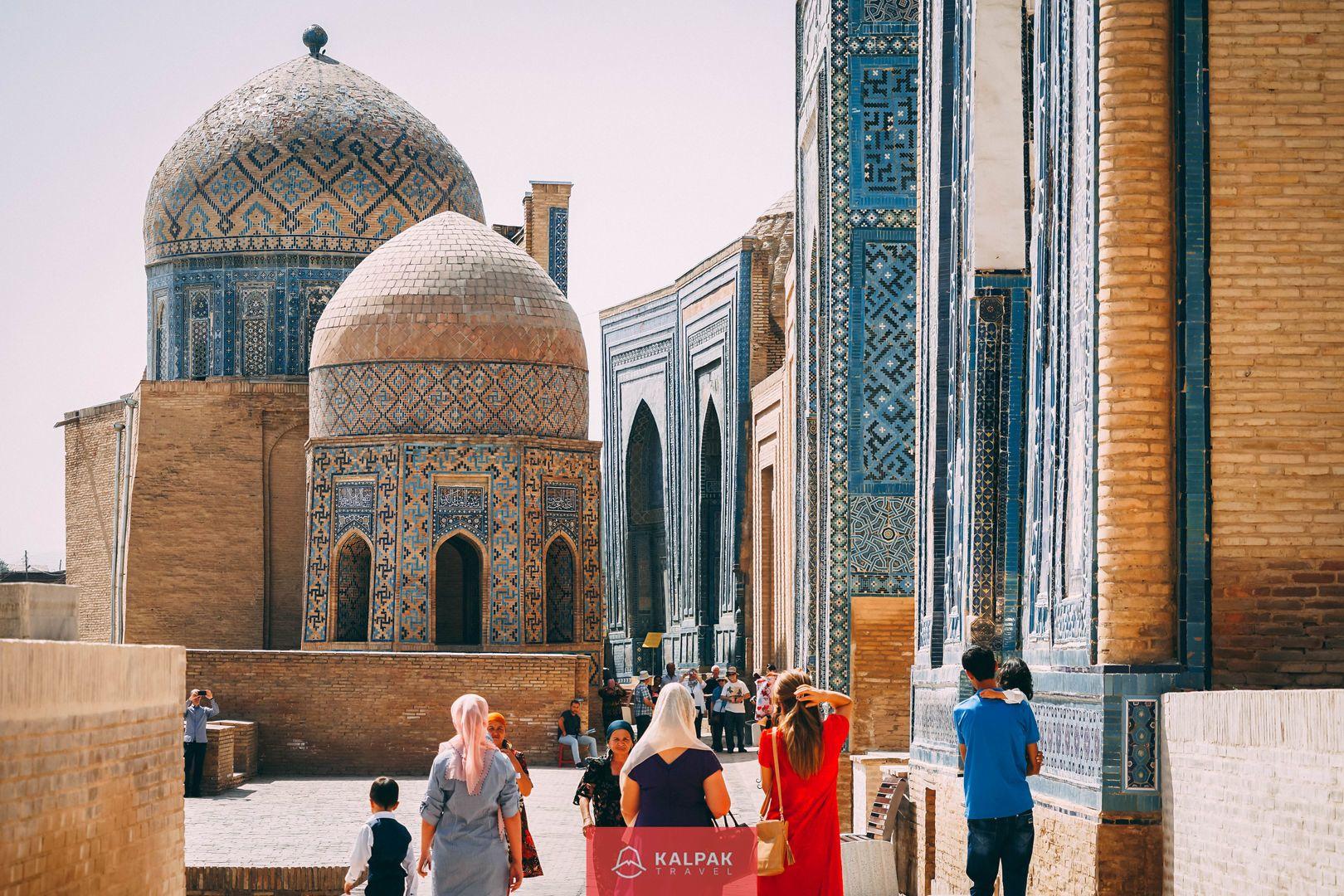 Samarkand Travel, Shahi Zinda