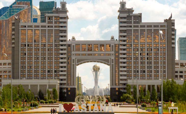 Astana center in Expo 2017 tour