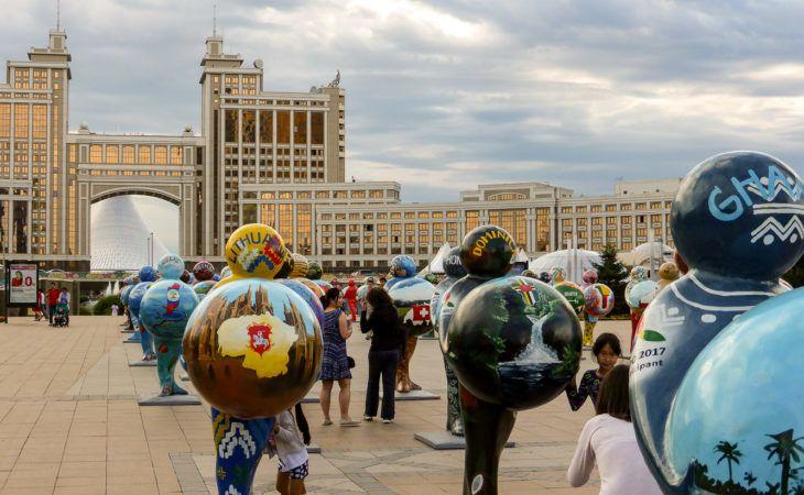 World Expo 2017 Tour in Astana, Kazakhstan