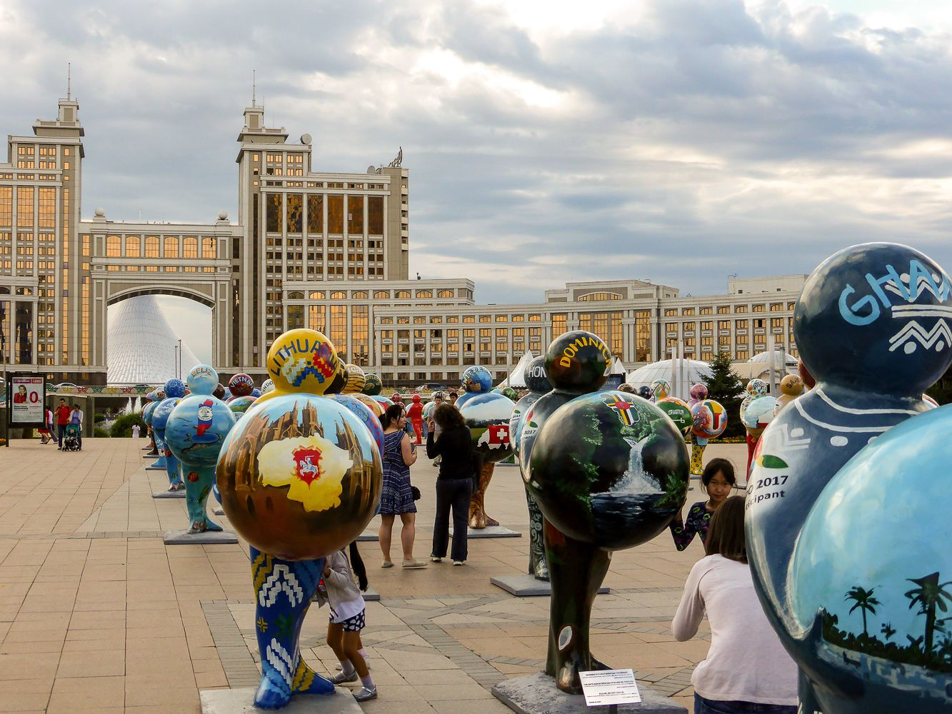 World Expo 2017 Tour in Astana, Kazakhstan