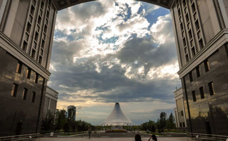 Astana buildings in World Expo 2017 Tour