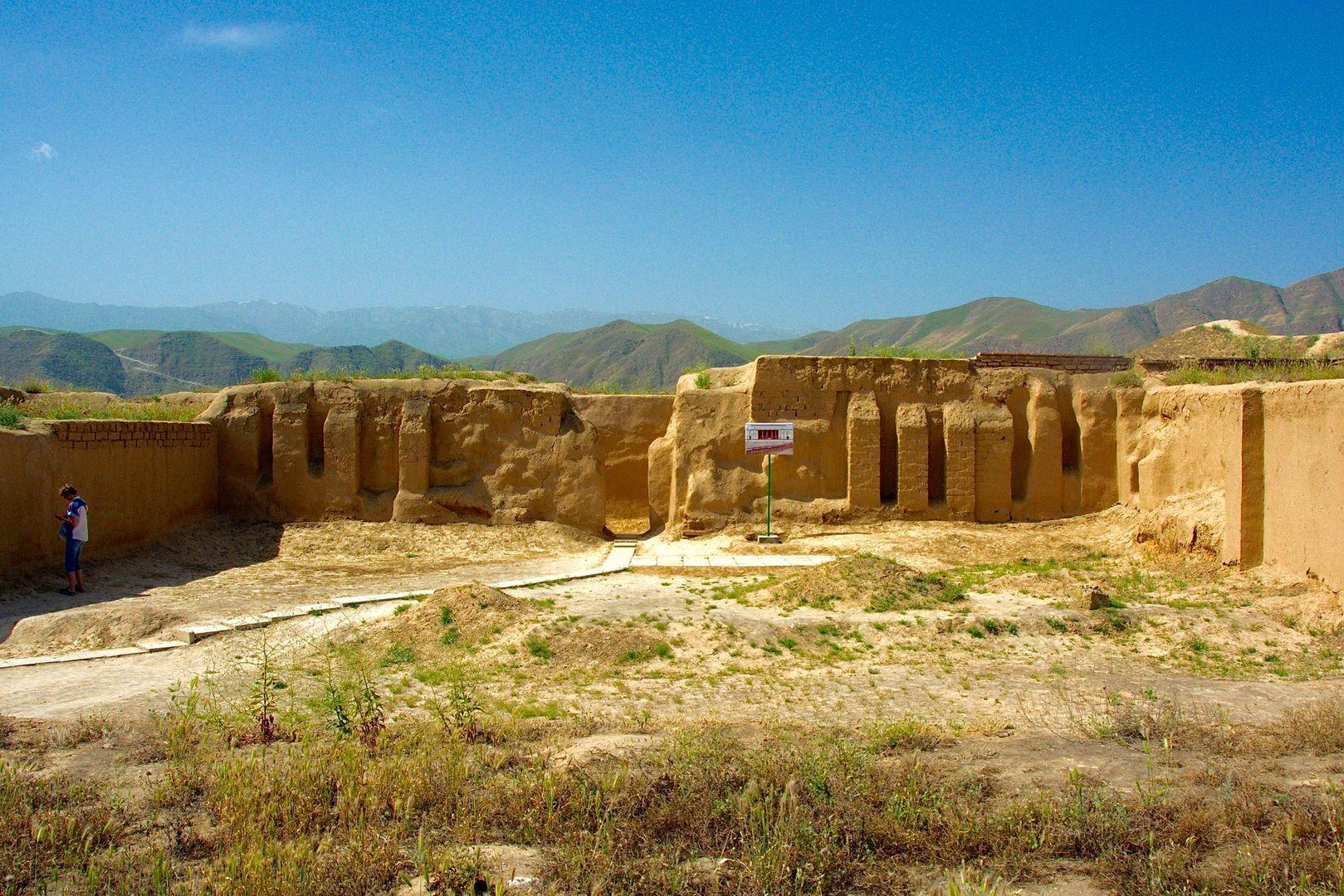 Turkmenistan UNESCO site, Nisa, Central Asia