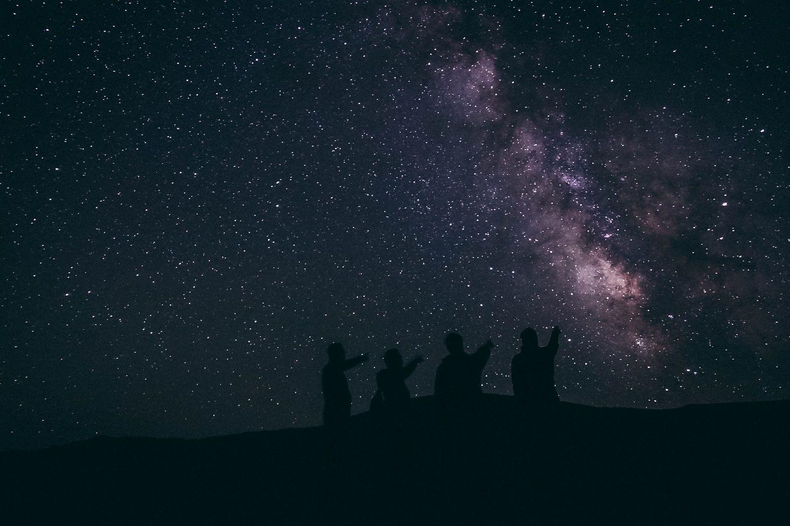 Kyrgyzstan, Song Kul, Starry night