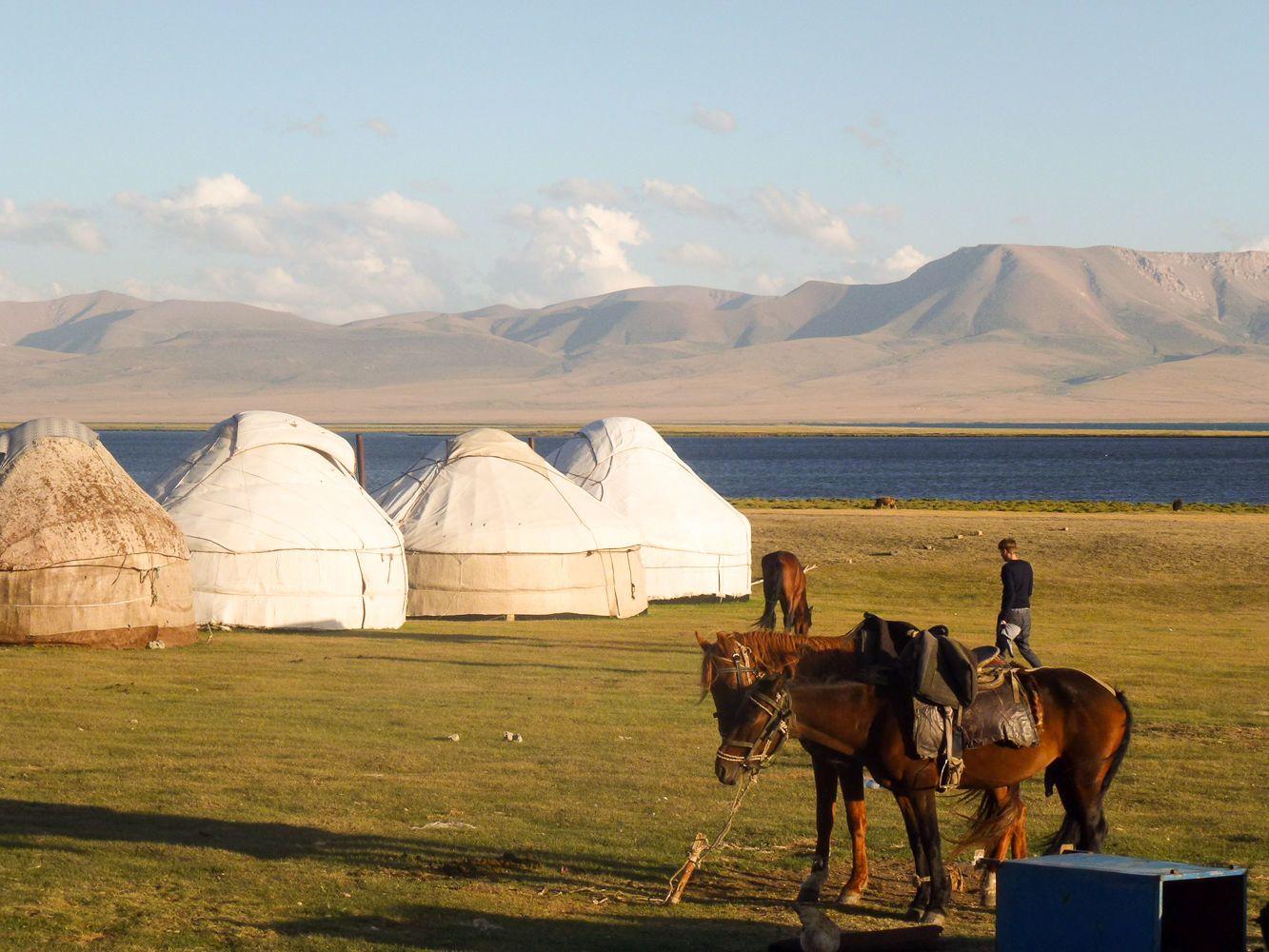 Song Kul, yurt