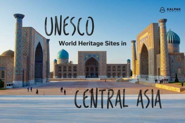 World heritage sites Central Asia