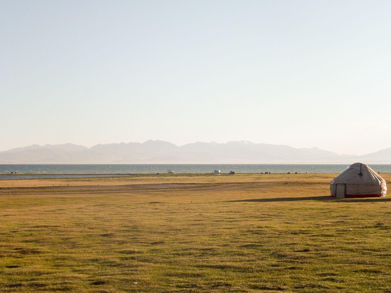 Kyrgyzstan, landscape, Song Kul